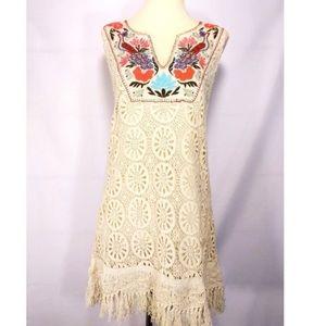 NWT Anthro Rare Fringe Dress